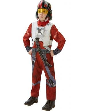 Tween Boy's Poe Dameron X-Wing Fighter Costume Main Image