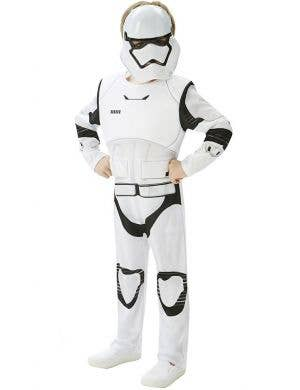 Kids First Order Storm Trooper Deluxe Kids Costume Star Wars