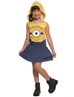 Girl's Despicable Me Minion Fancy Dress Costume Main Image