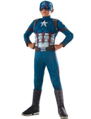 Captain America Civil War Boys Costume Fancy Dress Main Image