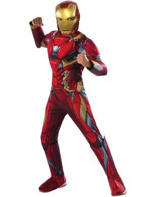 Kids Deluxe Iron Man Infinity War Avengers costume main image