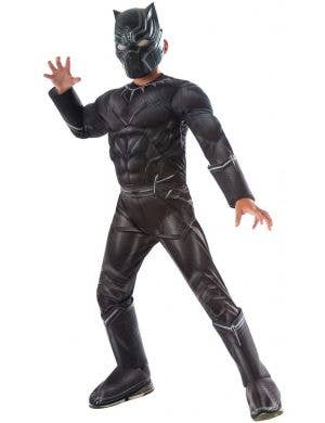 Deluxe Black Panther Costume Infinity War for Kids