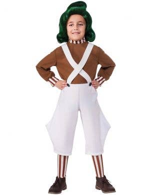 Oompa Loompa Boys Willy Wonka Book Week Costume