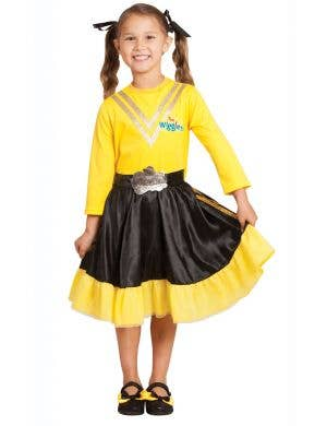 Girls Yellow Wiggle Emma Fancy Dress Costume