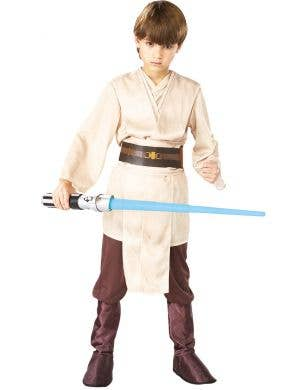 Star Wars Jedi Boy's Fancy Dress Costume