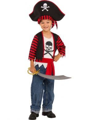 Little Pirate Boys Fancy Dress Costume