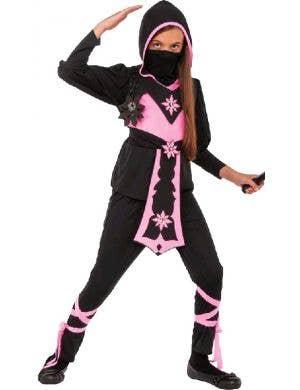 Pink Crystal Ninja Girls Book Week Costume