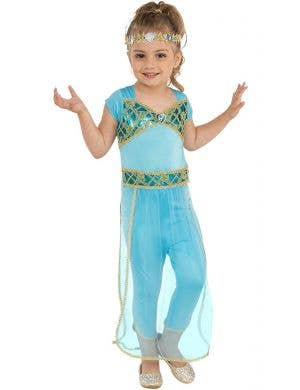 Arabian Princess Girl's Fancy Dress Costume