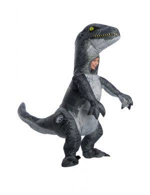 Jurassic World Inflatable Dinosaur Blue Kids Costume