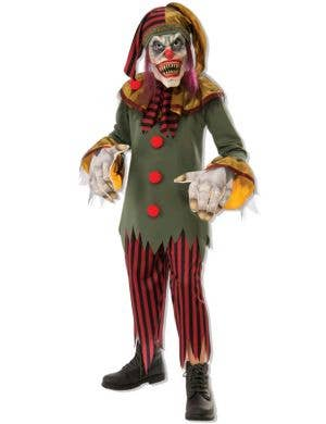 Crazy Clown Boys Halloween Costume