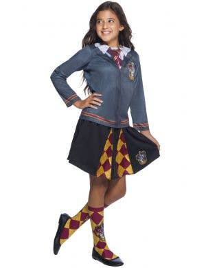 Harry Potter Gryffindor Girl's Costume Top