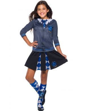 Harry Potter Ravenclaw Girls Costume Top