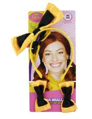 The Wiggles - Emma Wiggle Headband and Shoe Bows
