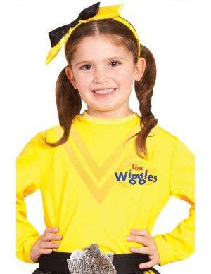 The Wiggles - Emma Girls Yellow Costume Top