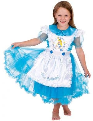 Disney Classic Alice In Wonderland Girls Costume