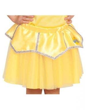 The Wiggles - Emma Girls Yellow Tutu Skirt