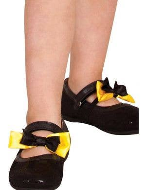 The Wiggles - Emma Wiggle Shoe Bows Costume Accessory