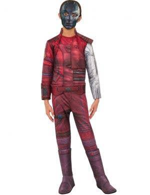 Avengers Endgame Girls Deluxe Nebula Costume