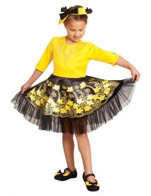 The Wiggles Girls Deluxe Emma Ballerina Fancy Dress Costume full length