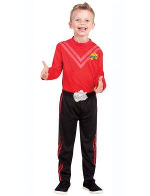 The Wiggles Boys Simon Red Fancy Dress Costume for Kids