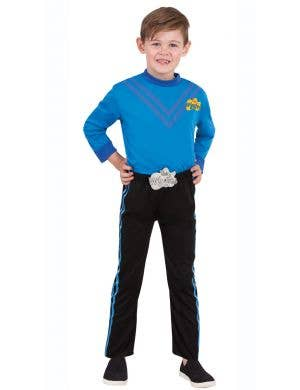 The Wiggles boys Anthony blue fancy dress costume for kids