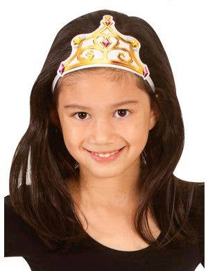 Disney Princess Belle Fabric Tiara Costume Accessory