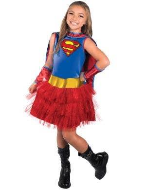 Supergirl Girls Classic Tutu Superhero Costume