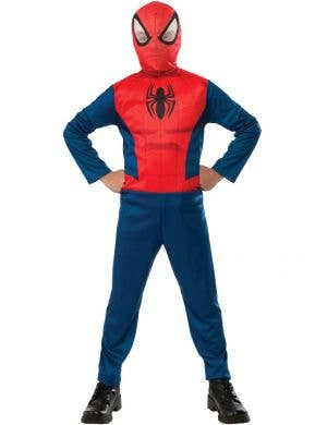 Classic Spiderman Boys Marvel Superhero Costume