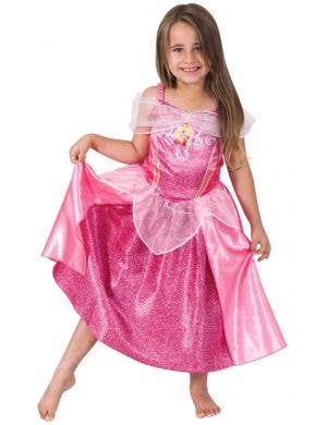 Sleeping Beauty Girls Disney Princess Fancy Dress Costume