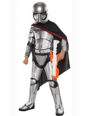 Girls Star Wars Captain Phasma Stormtrooper Costume Main Image