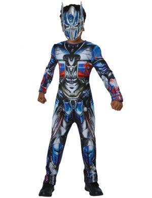 Classic Optimus Prime Boys Transformers Costume