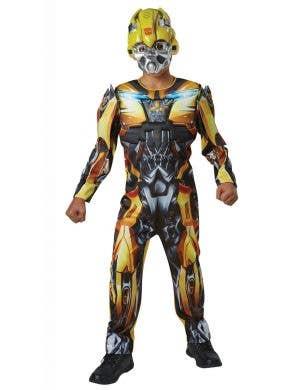 Kids Deluxe Bumblebee Transformers Costume Main Image