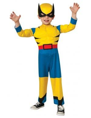 X-Men Wolverine Toddler Marvel Dress Up Costume Main Image