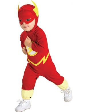 Flash Toddler Red and Yellow Superhero Costume