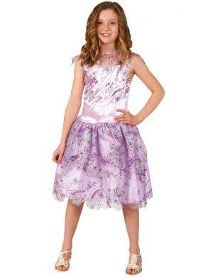 Descendants Mal Purple Coronation Tween Girls Costume