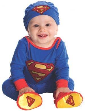 Superman Newborn and Infant Fancy Dress Costume
