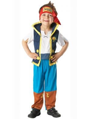 Boys Jake The Never Land Pirate Fancy Dress Costume Main Image