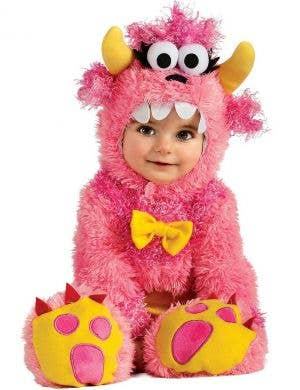 Babies Pink Monster Fancy Dress Costume