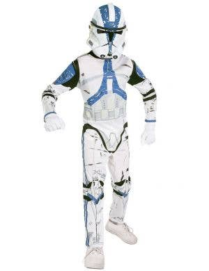 501st Clone Trooper Star Wars Costume for Boys