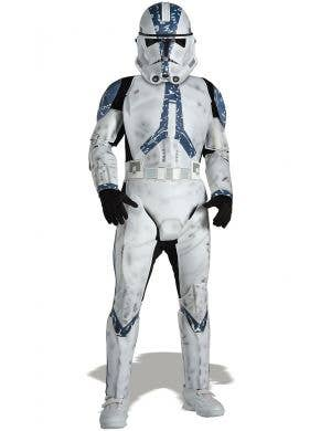 501st Legion Clone Trooper Star Wars Boys Costume Main Image