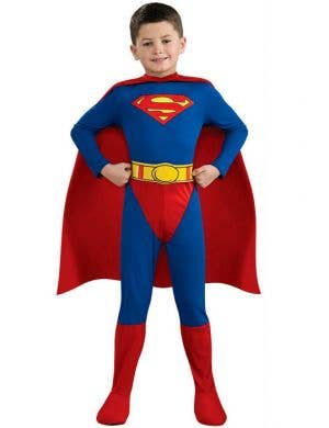 Superhero Boy's Superman Costume Front View