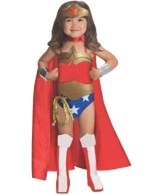 Classic Wonder Woman Deluxe Girls Costume