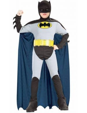 DC Comics Classic Batman Boys Fancy Dress Costume