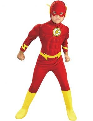 The Flash Boys Muscle Chest Superhero Costume