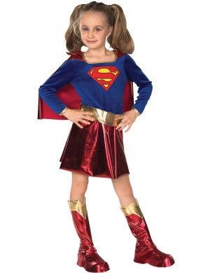Supergirl Girls DC Comics Deluxe Costume