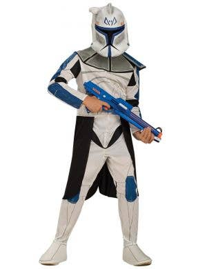 Captain Rex Clone Trooper Star Wars Boys Costume