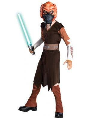 Plo Koon Star Wars Clone Wars Boys Costume Main Image