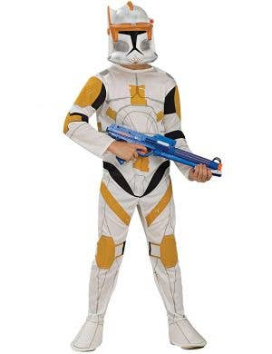 Cody Clone Wars Commander Deluxe Kids Costume Main Image