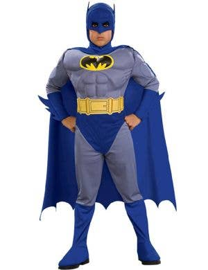 Boy's Batman Superhero Fancy Dress Front View