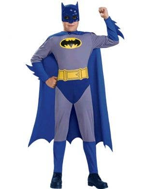 Batman Boy's Classic Superhero Costume Front View